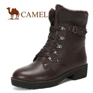 骆驼品牌camel舒适时尚女靴