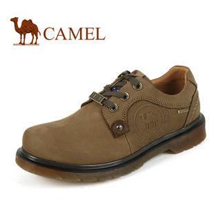 美国骆驼 正品 男 鞋休闲鞋 真皮登山鞋 情侣鞋1580121升级版
