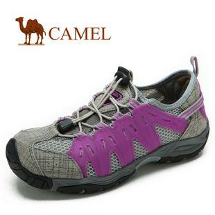 camel 骆驼 2012新款女鞋 伊炫真皮头层皮户外女鞋 1149001