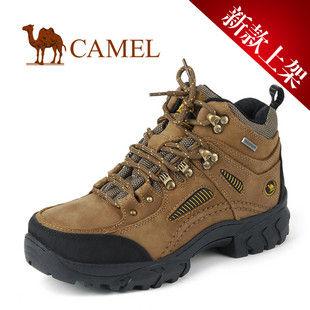 CAMEL美国骆驼户外防滑女款登山鞋 系带女鞋881623