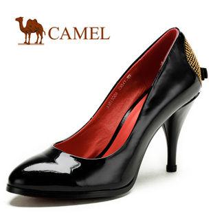 camel 骆驼 女鞋 成熟高贵 时尚性感休闲女鞋 2012春款 1015008