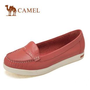 camel 骆驼 女鞋 简洁大方 时尚休闲女款单鞋 2012新款 1106015