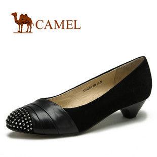 camel 骆驼 女鞋 精致时尚 真皮休闲女鞋 单鞋 2012春款 1148001