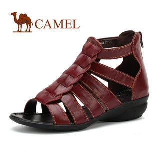 CAMEL美国骆驼 女鞋 罗马风格 复古凉鞋1046213