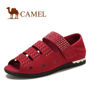 camel 骆驼 女鞋 春季新款 时尚休闲女鞋 凉鞋 1056005