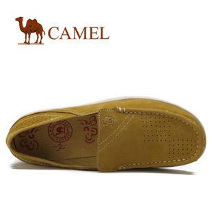camel 骆驼 女鞋 雅致休闲 真皮日常休闲女鞋 2012春款 1021021