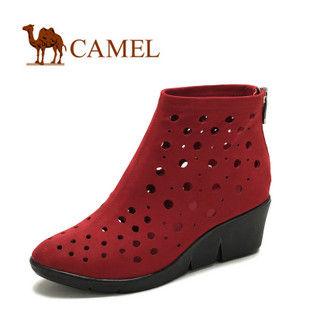 camel 骆驼 女鞋 时尚休闲镂空 女款休闲鞋 2012新款 1058052