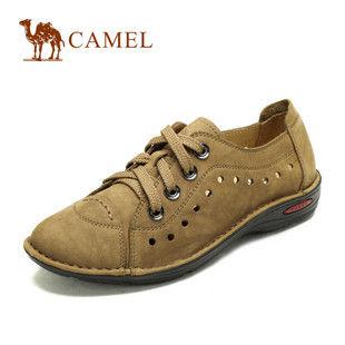 camel 骆驼 女鞋 舒适手抓磨砂皮日常休闲鞋 2012春款 1063019