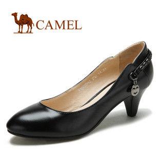camel 骆驼 女鞋 熟女魅力 羊皮时尚休闲女鞋 2012春款 1068010
