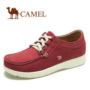 camel 骆驼 时尚个性 真皮日常休闲鞋 2012女鞋春款 1079006
