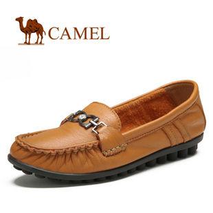 camel 骆驼 女鞋 精选优质 真皮 日常休闲女鞋2012春款 1121001