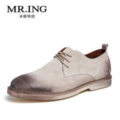 MR.ING 2015春季新品休闲皮鞋真皮男鞋英伦休闲男鞋A936