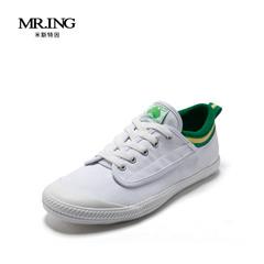 Mr.ing新款透气情侣潮鞋男女鞋运动鞋时尚硫化鞋 男士帆布鞋A1380