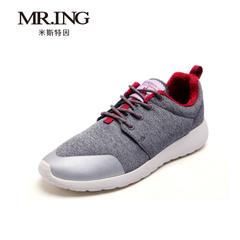 mr.ing2015新品运动户外减震鞋冬季加绒跑步时尚系带男鞋A1369