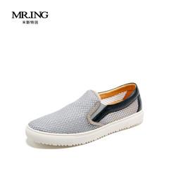 Mr.ing时尚男士板鞋透气休闲一脚蹬男鞋A1227