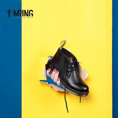 Mr.ing秋季时尚女士英伦马丁靴子高帮鞋休闲鞋女潮鞋 T590