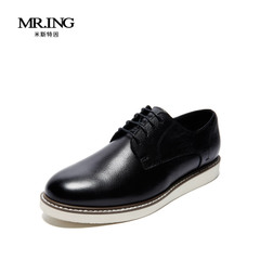 Mr.ing秋季新品真皮休闲男鞋男士时尚韩版英伦商务皮鞋聚A1330-1