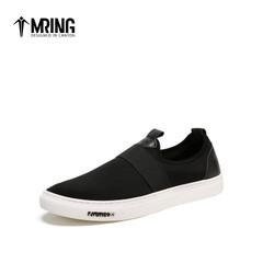 Mr.ing 新品时尚潮流休闲鞋简约舒适经典纯色男士单鞋鞋子A1501