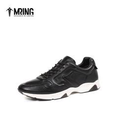 Mr.ing2017春季新片时髦舒适透气真皮个性潮流运动休闲鞋A1751